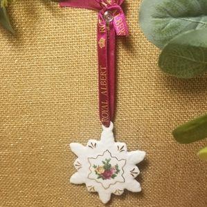 Royal Albert Ceramic Floral Star Ornament